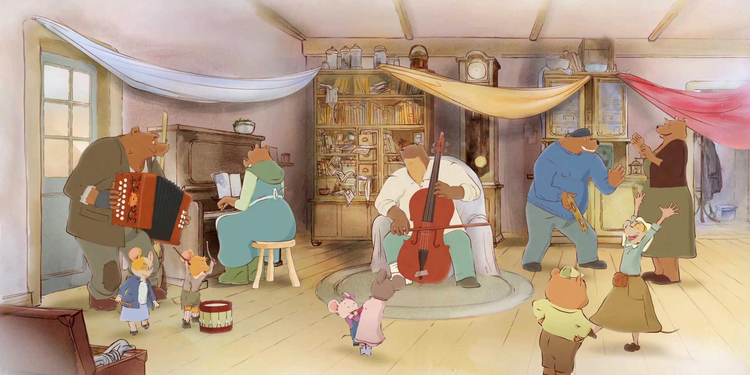 Ernest And Celestine The Collection Dandelooo
